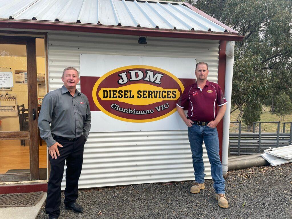 John Mahoney of JDM Diesel Services