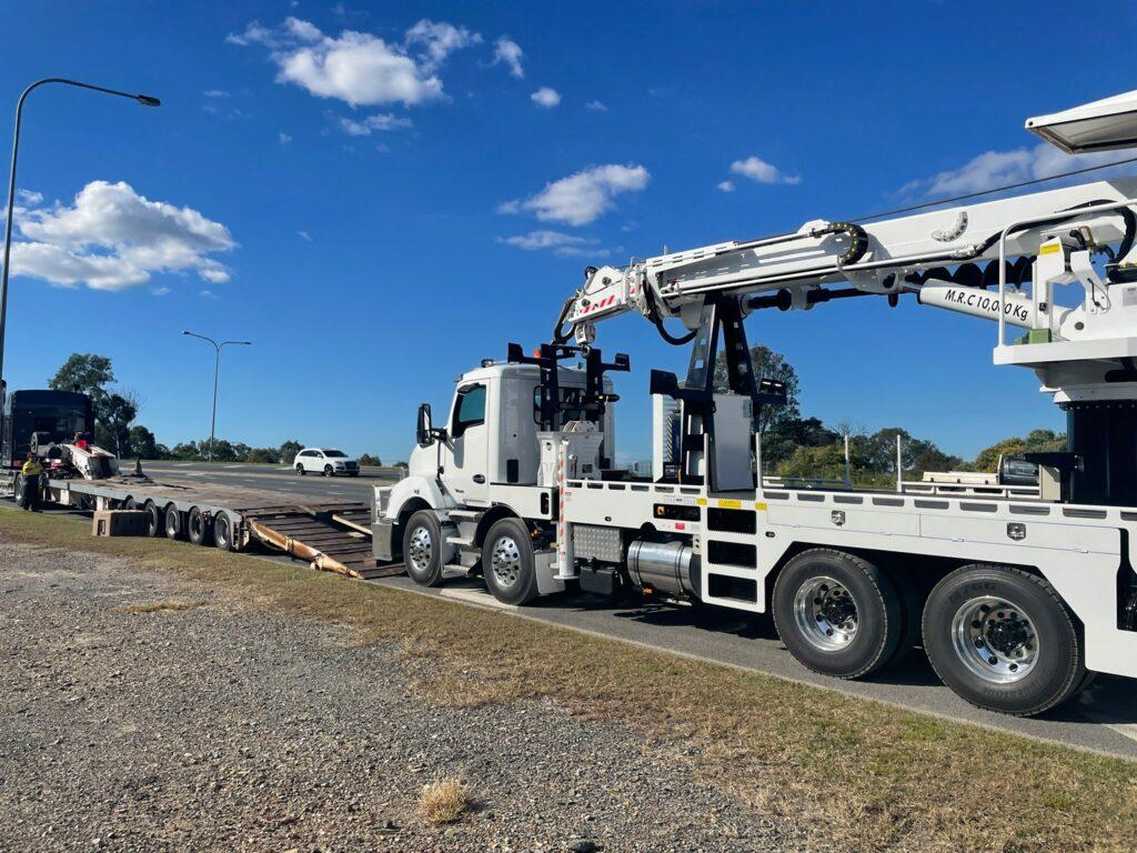 malls Power Poles & Linework 's new TIDD Crane Borer